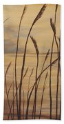 Moody Sunset Beach Towel