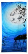 Moon Lit Beach Towel