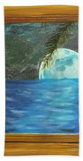 Moon Window Beach Towel