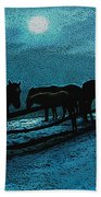 Moonbeam Beach Towel