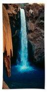 Mooney Falls Beach Towel