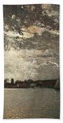 Moonlight Mood, The Stockholm Inlet  Beach Towel