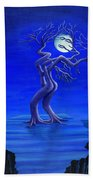 Moonlight Passion Beach Towel
