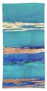 Moonlight Sea Beach Towel