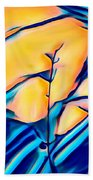 Moonrise In The Branches Beach Towel