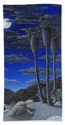 Moonrise Beach Towel by Snake Jagger