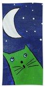 Moonstruck Beach Towel