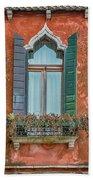 Moorish Window And Texture Venice_dsc5350_03052017 Beach Towel