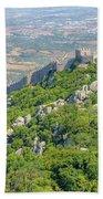 Moors Castle Aerial Beach Towel