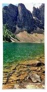 Moraine Lake Beach Towel