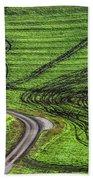 Moravian Patterns Beach Towel
