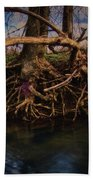More Roots In Creek Beach Towel