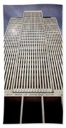212x01-mormon World Headquarters  Beach Towel