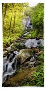Morning At Amicalola Falls Beach Towel