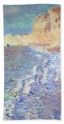 Morning At Etretat Beach Towel