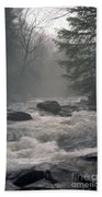 Morning At The River Beach Towel