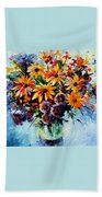 Morning Bouquet Beach Towel