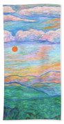 Morning Color Dance Beach Towel