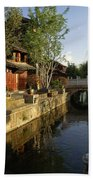 Morning Comes To Lijiang Ancient Town Beach Towel