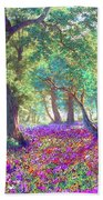 Morning Dew Beach Towel by Jane Small