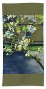 Morning Dogwood Beach Towel