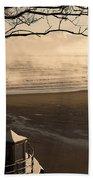 Morning Filey Beach Beach Towel