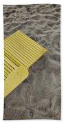 Morning Footsteps Beach Sheet