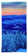 Morning From Timberline Lodge Beach Towel