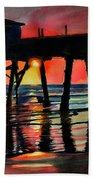 Morning Glow 4-27-15 Beach Towel
