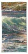 Morning Glow On Sugar Beach Beach Towel