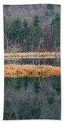 Morning In The Mirror Beach Towel