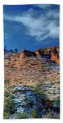Morning In Zion Beach Towel
