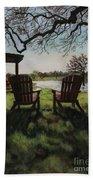 Morning Light At The Vineyard Florence Texas Beach Sheet