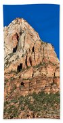 Morning Light In Zion Canyon Beach Towel