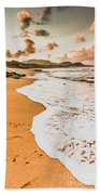 Morning Marine Wash Beach Towel