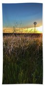 Morning On The Grasslands Beach Towel