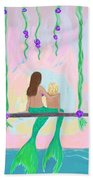 Morning On The Swing Beach Towel