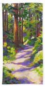 Morning On The Trail 3 Beach Towel
