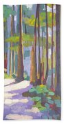 Morning On The Trail Beach Towel
