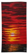 Morning Sky Beach Towel