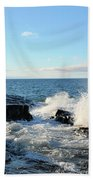 Morning Splash 2 Beach Towel