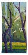 Morning Stroll Beach Towel