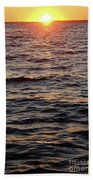 Morning Sun On The Water Beach Towel