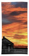 Morning Sunrise 2-14-2011 Beach Towel