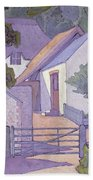 Morning, The South Downs By Robert Polhill Bevan Beach Towel
