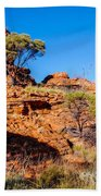 Morning To The Kings Canyon Rim - Northern Territory, Australia Beach Towel
