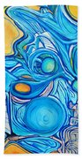 Morphism And Energy Beach Towel