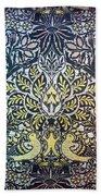 Morris: Dove & Rose, 1879 Beach Towel