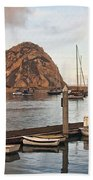 Morro Bay Small Pier Beach Towel