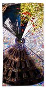 Mosaic Disk Beach Towel